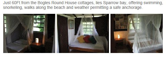 Cabin rental on Carriacou, the roundhouse cottages.